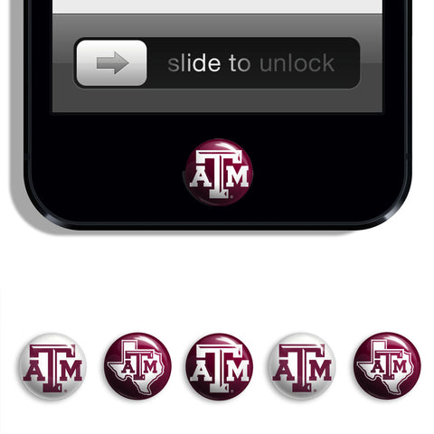 Texas A&M Aggies Udots iPhone iPad Buttons - Spirit Gear Central