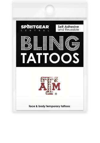 Texas A&M Aggies Bling Tattoos