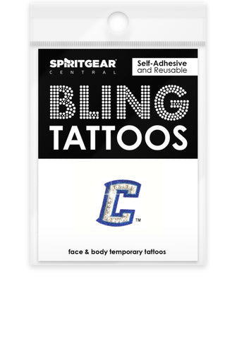 Creighton Bluejays Bling Tattoos