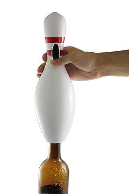 WineOvation Electric Wine Opener Bowling Pin - Wine Bottle Opener