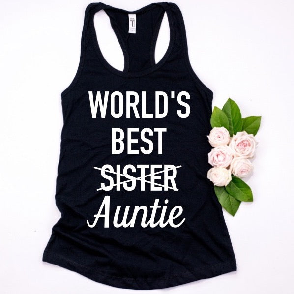 World's Best Sister/Auntie Tank
