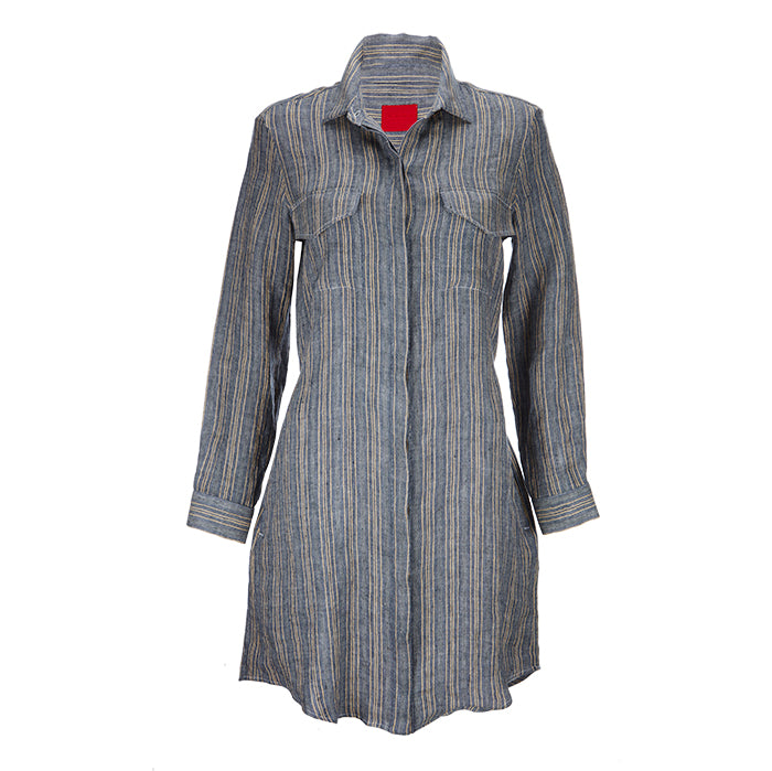 Archie Foal Women's Blue Erica Shirt Dress