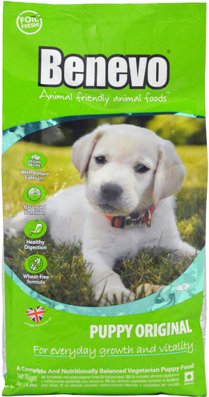 Benevo Original Vegan Puppy Food 2kg - Shipping From Just £2.99 Or FREE When You Spend £55 Or More