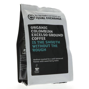 Equal Exchange Colombian Ground Coffee 227g - Shipping From Just £2.99 Or FREE When You Spend £55 Or More