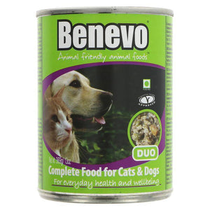 Benevo Duo - Cat & Dog Food - 369g - Shipping From Just £2.99 Or FREE When You Spend £55 Or More