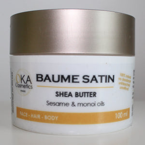 OKA Cosmetics Baume Satin - Shea Butter with Sesame & Monoï 100ml
