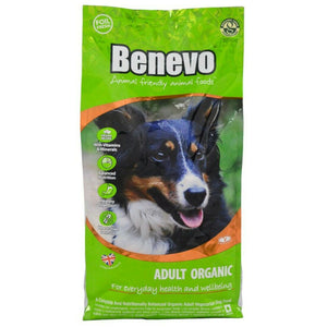Benevo Organic Adult Dog Food 2kg - Shipping From Just £2.99 Or FREE When You Spend £55 Or More