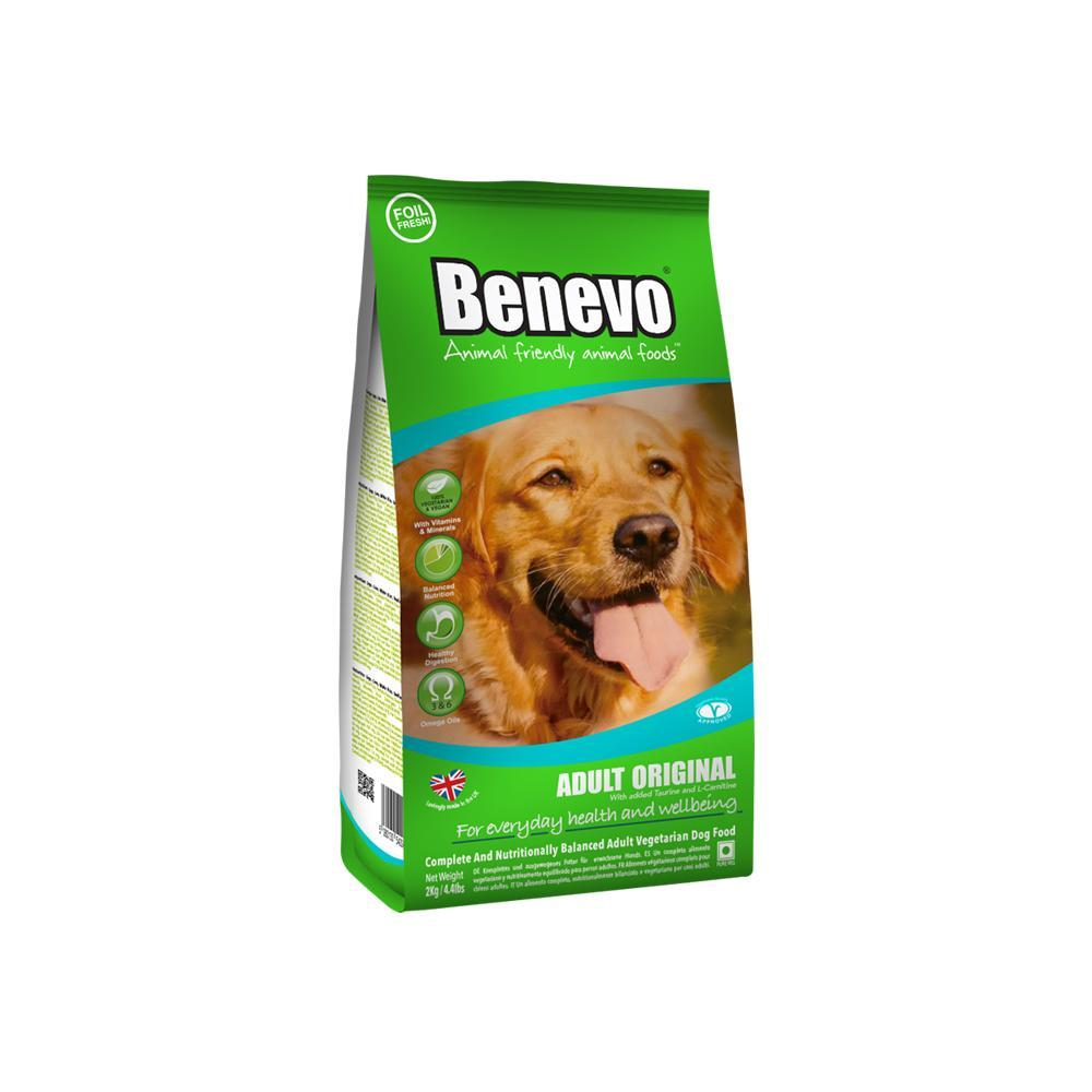 Benevo Adult Dog Original Dog Food 2kg - Shipping From Just £2.99 Or FREE When You Spend £55 Or More