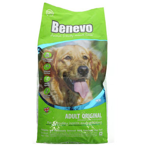 Benevo Adult Dog Original 15 kg - Shipping From Just £2.99 Or FREE When You Spend £55 Or More