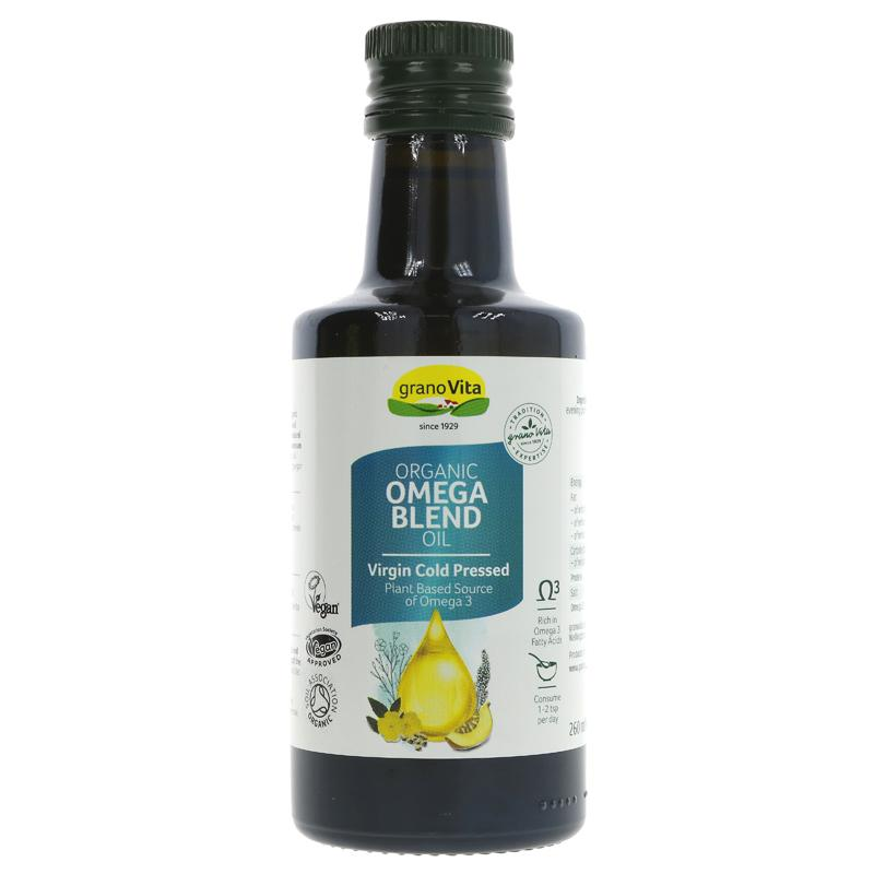 Granovita Organic Omega Blend Oil 260ml - Shipping From Just £2.99 Or FREE When You Spend £55 Or More