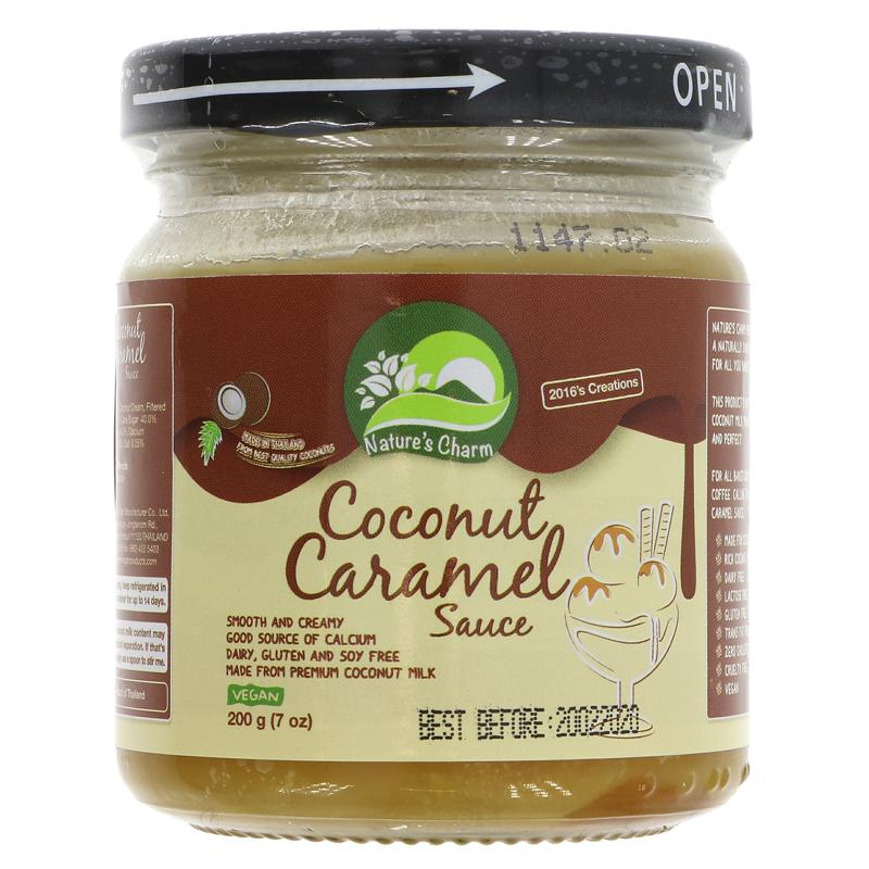 Nature's Charm Coconut Caramel Sauce - 200g