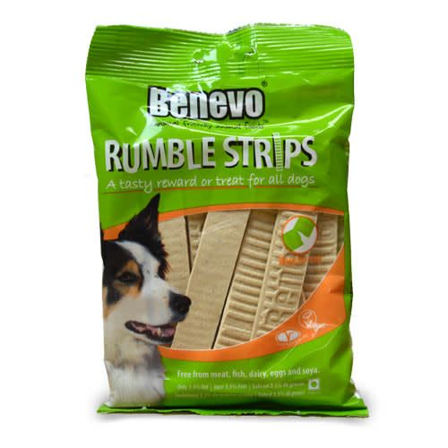 Benevo Rumble Dog Strips 180g - Shipping From Just £2.99 Or FREE When You Spend £55 Or More