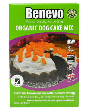 Benevo Organic Dog Cake Mix 140g - Shipping From Just £2.99 Or FREE When You Spend £55 Or More