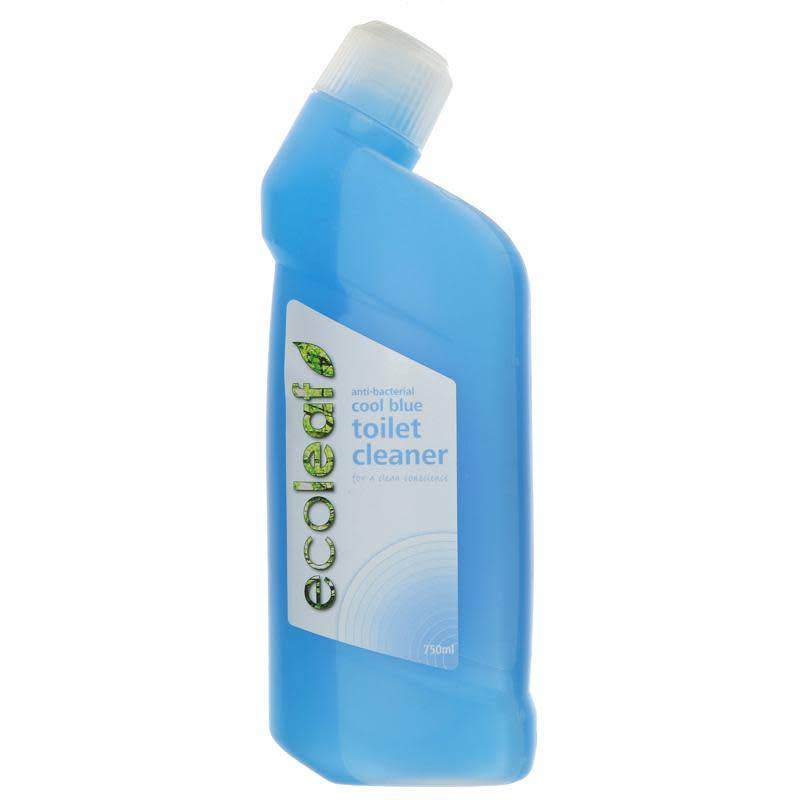 Ecoleaf Toilet Cleaner - Cool Blue 750ml - Shipping From Just £2.99 Or FREE When You Spend £55 Or More