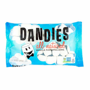 Dandies All Natural Vanilla Marshmallows 283g - Shipping From Just £2.99 Or FREE When You Spend £55 Or More