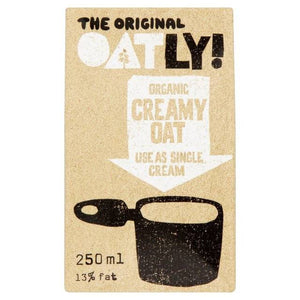 Oatly Organic Oat Single Cream 250ml