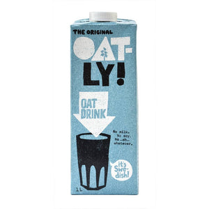 Oatly Original Oat Drink 1l