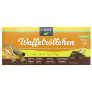 Clarana Gluten Free Wafer Cocoa Crème 100g - Shipping From Just £2.99 Or FREE When You Spend £55 Or More