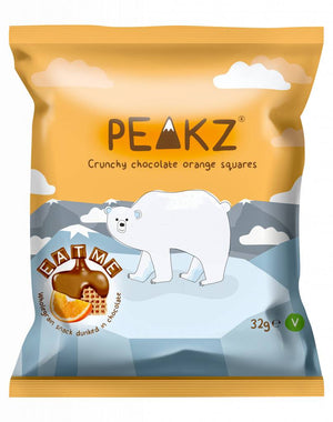 Peakz Chocolate Orange Squares 32g