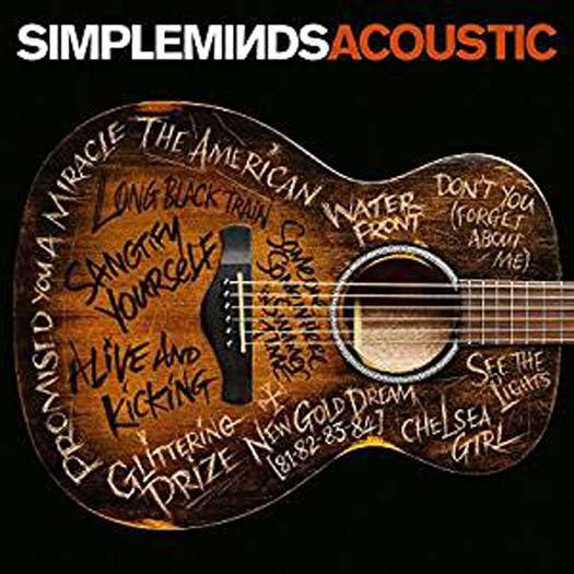 SIMPLE MINDS Acoustic LP Vinyl NEW