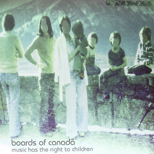 BOARDS OF CANADA HAS THE RIGHT TO CHILDREN DOUBLE LP VINYL NEW 33RPM 2013