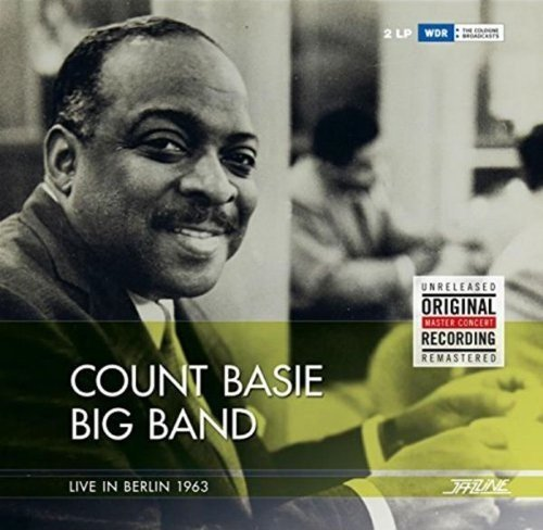 COUNT BASIE BIG BAND Live In Berlin 1963 LP Vinyl NEW 2016