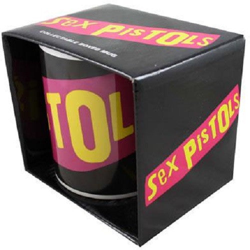 SEX PISTOLS Classic Logo BOXED MUG NEW OFFICIAL