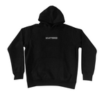 Streetwear-Handsewn Black Box Logo-Hoodie-Scattered, LLC