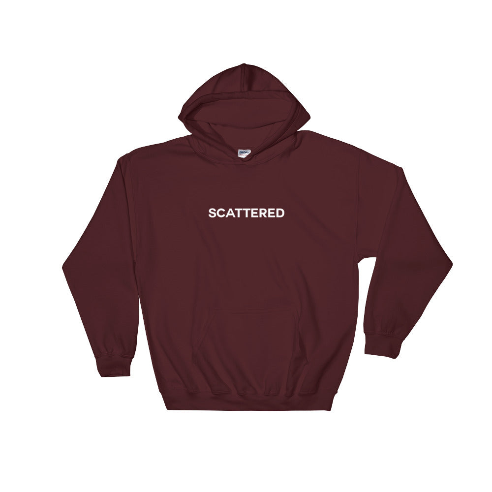 Streetwear-Scattered Logo Hoodie-Scattered, LLC