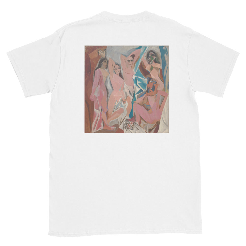 "Streetwear-Picasso Tee ""Les Demoiselles d'Avignon""-Shirts-Scattered, LLC"