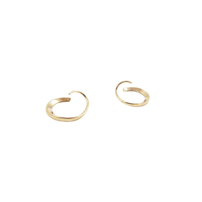 Loop Through Hoop Earrings (Pair)