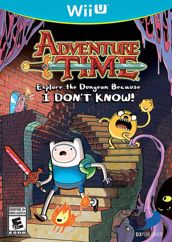 Adventure Time: Explore the Dungeon Because I Don't Know! - Wii U