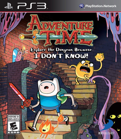 Adventure Time : Explore the Dungeon Because I Dont Know - PS3
