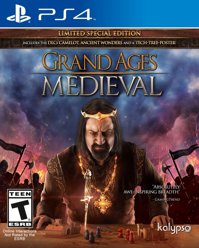 Grand Ages Medieval Limited Edition - PS4