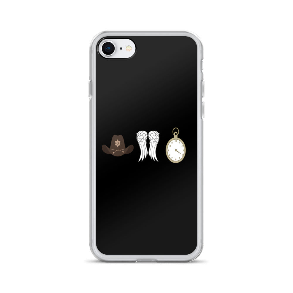 TWD Symbols iPhone Cases