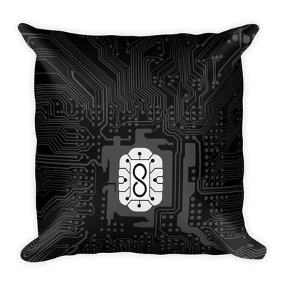 ALIE Chip Pillow Black and White