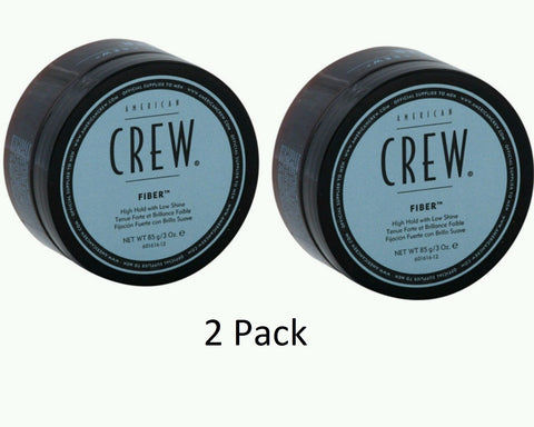 2Pack - American Crew Fiber - High Hold Low Shine 3oz Strong Wax Paste 85g Men