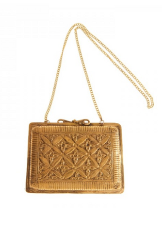 From St. Xavier Leigh Gold Bag