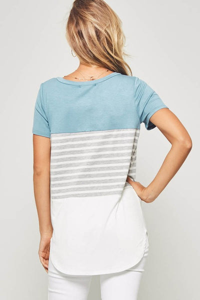 Promesa Striped Top