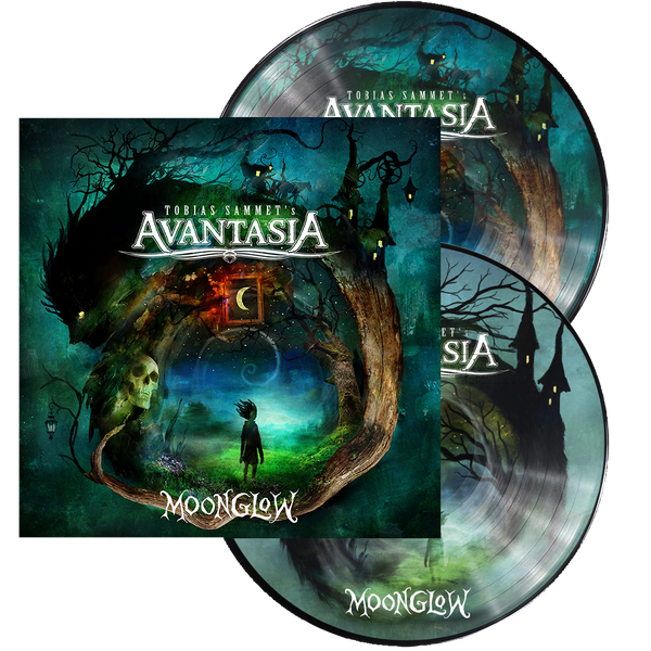 "Pre-Order! Random Pick! Avantasia-""Moonglow"" Green/Blue/White Marble Double Vinyl"