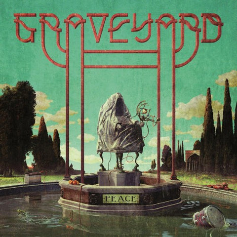 "Graveyard-""Peace"" Limited Yellow w/ Black Splatter (Indie Retail Exclusive), Red w/ White Splatter, or Red Cassette."