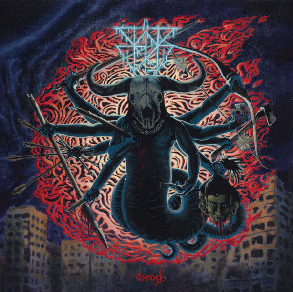 "Badr Vogu - ""Wroth"" Black or Deluxe Color Double Vinyl"