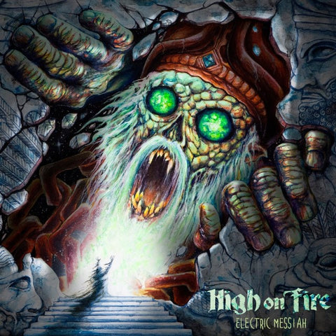 "High On Fire-""Electric Messiah"" Double Color Vinyl"