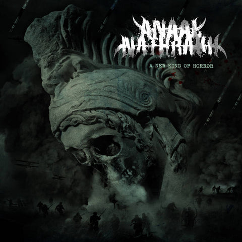 "Anaal Nathrakh-""A New Kind of Horror"" Tropical Green And Black Marble Colored Vinyl, limited to 300"