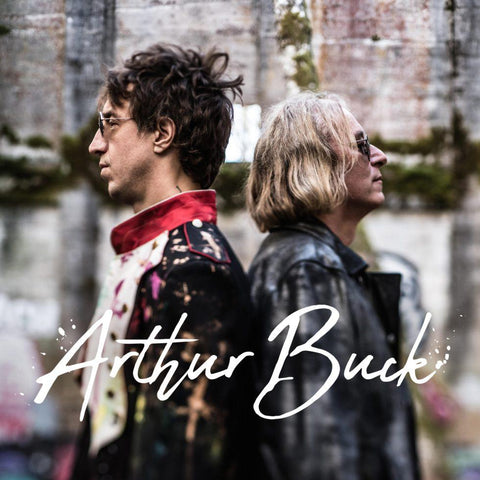"Random Pick! Arthur Buck-""Arthur Buck"" Transparent Blue and Red Vinyl, Indie Retail Exclusive"