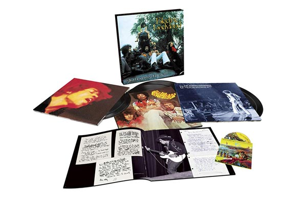 "Random Pick! Jimi Hendrix Experience-""Electric Ladyland"" Deluxe Edition, 6LP+Blu-Ray Box, 50th Anniversary, 180 Gram, Gatefold, 48-page book"