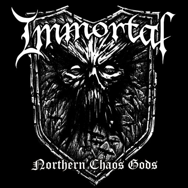 "Immortal-""Northern Chaos Gods"" Limited Clear Black and White Splatter Vinyl"