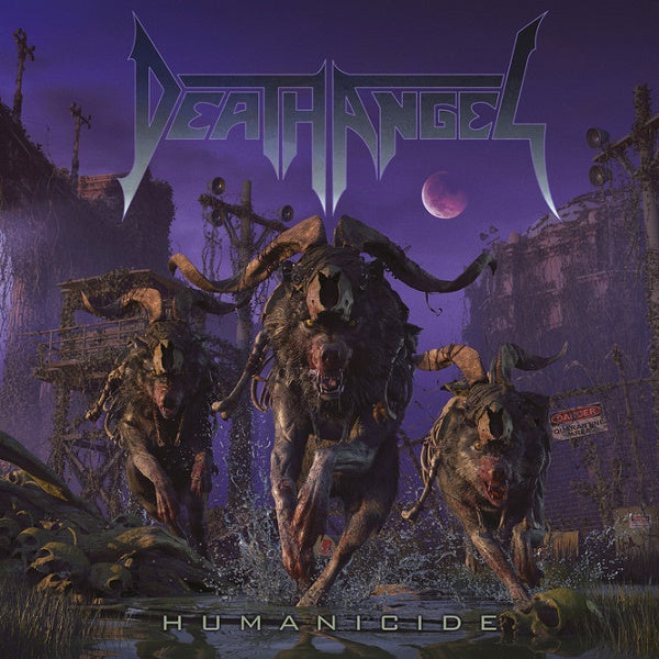 "Death Angel-""Humanicide"" White, Gold, Purple/Cyan, Purple/Blue Vinyl or Purple Cassette."
