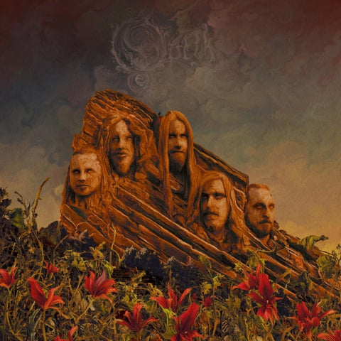 "Opeth-""Garden of the Titans: Live At the Red Rocks Ampitheater"" 2 LP, Green with Black Splatter Vinyl, gatefold, limited to 500, indie-retail exclusive or Beer Colored Vinyl With Red Splatter, gatefold, limited to 1000"