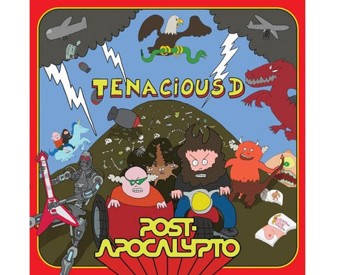 "Random Pick! Tenacious D-""Post Apocalypto"" 180 Gram, Translucent Green Colored Vinyl, 20-page 12x12'' booklet, comes with download card."